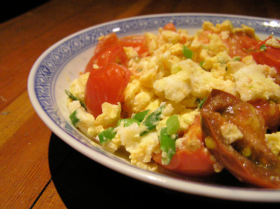 chinese tomato and eggs