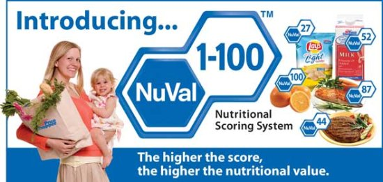 NuVal Nutritional Scoring System spreads nationwide
