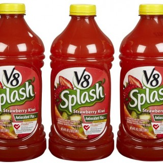 Decoding Labels: V8 Splash, Strawberry Kiwi