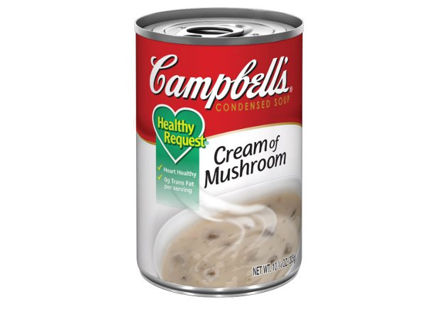 campbells healthy request cream of mushroom soup ingredients