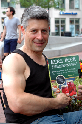 Alex Lewin with Real Food Fermentation