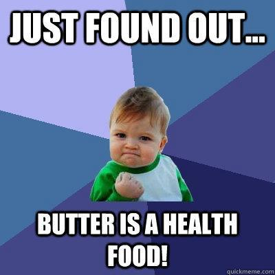 butter is a health food