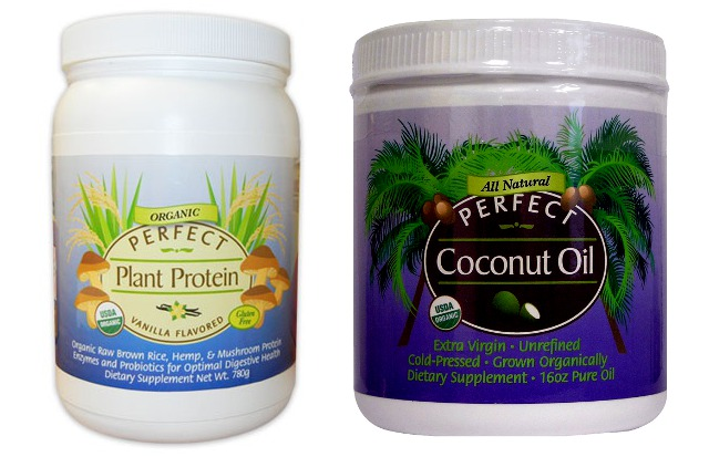 perfect plant protein coconut oil