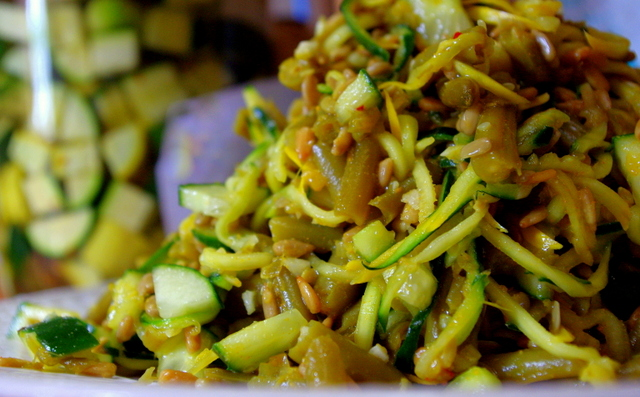 Golden-Mid-Summer-Vegetable-Noodle-Salad