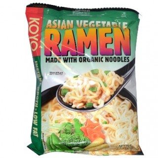 Decoding Labels: KOYO Asian Vegetable Ramen