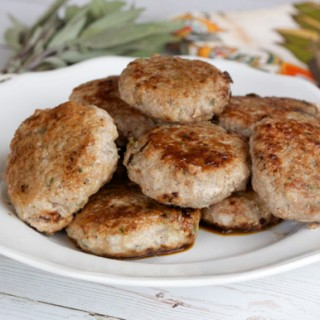 Pear, Ginger and Turkey Patties