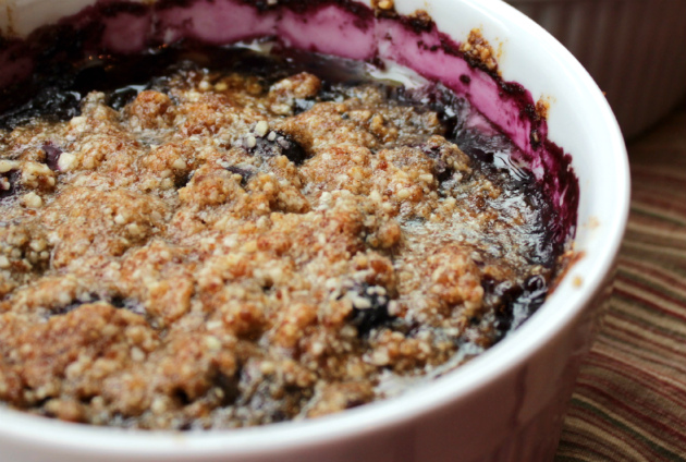 Any Fruit Grain-Free Crumble