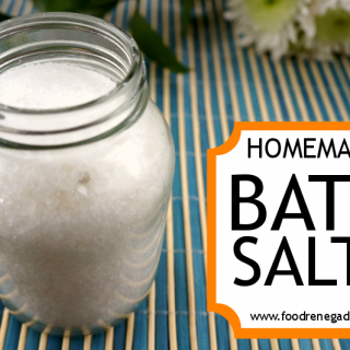 Bath Salts: A Relaxing Bath Salts Recipe