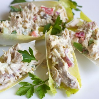 Paleo Chicken Salad Boats