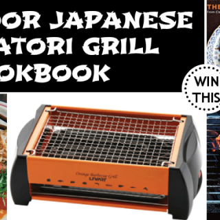 Indoor Japanese Yakatori Grill & Cookbook