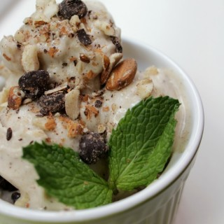 "Nutty Monkey ""Ice Cream"" (Dairy-Free, Paleo)"