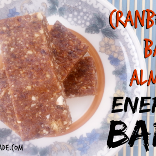 Cranberry Bacon Almond Energy Bars [Paleo]