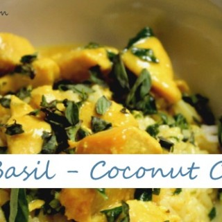 thai basil coconut chicken