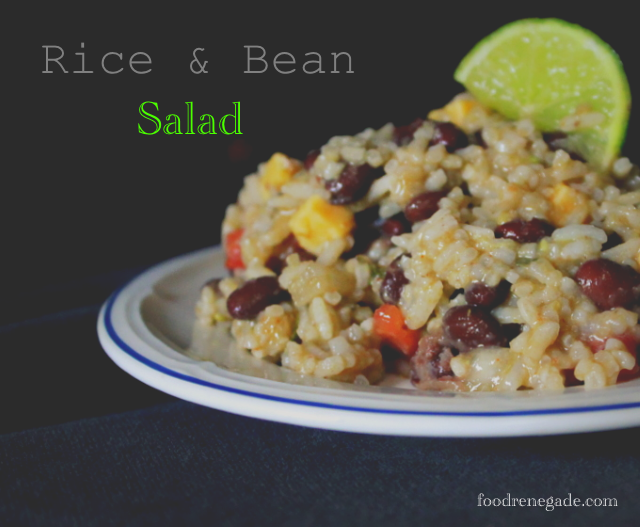 Rice and bean salad resistant starch1