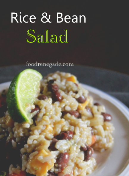 Rice and Bean Resistant Starch Salad | Food Renegade