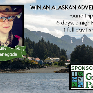 Win An Alaskan Adventure For Two With Me (over $4000 value)