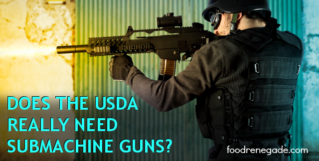 U.S. Department of Agriculture to Purchase Submachine Guns