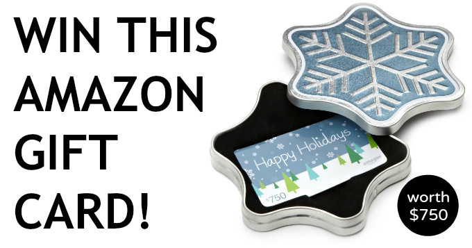 december giveaway amazon gift card