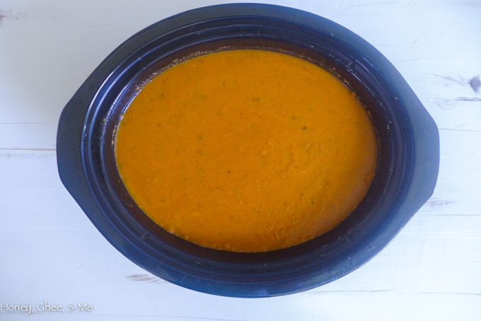 crock pot tomato soup paleo