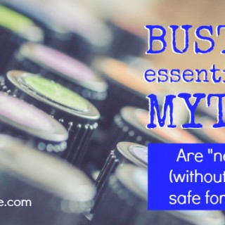 Undiluted Essential Oils for Babies: Busted Essential Oil Myth #3