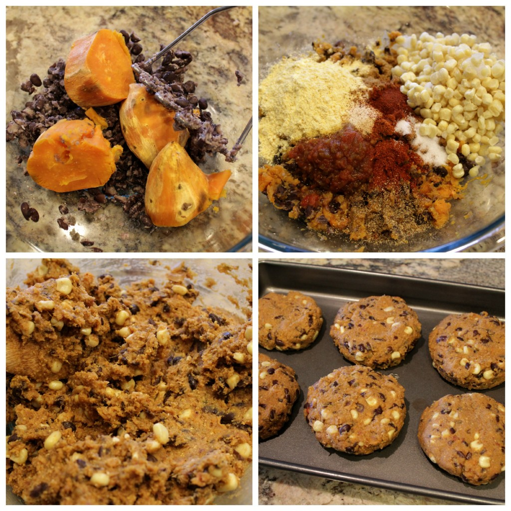 Steps Gluten-Free Southwestern Black Bean Sweet Potato Veggie Burger