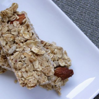 Oatmeal Almond Granola Bars