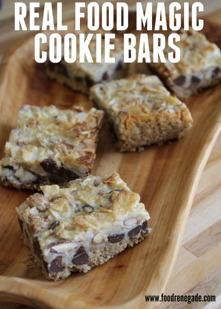 Real Food Magic Cookie Bars