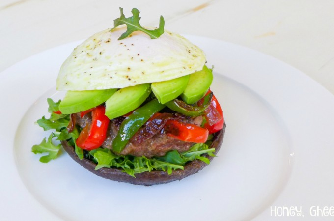 portabella mushroom burger paleo