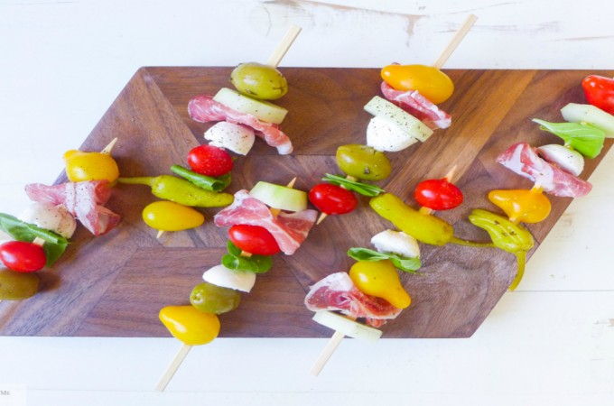 antipasto skewers appetizer kebobs
