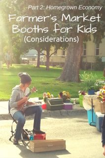 Farmers Market Booths for Kids