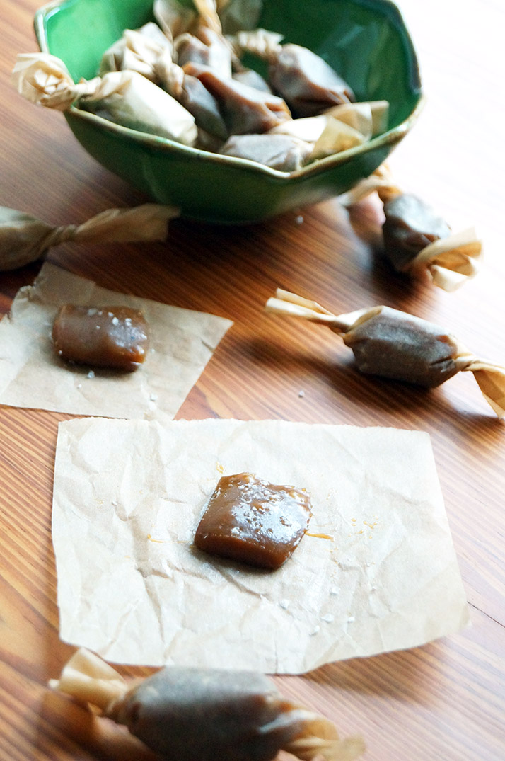 Dairy-Free Salted Caramel Candies
